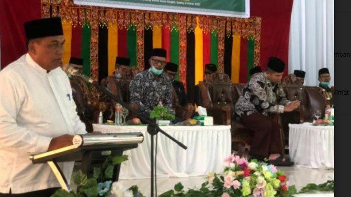 Hadiri Pelantikan Pengurus NU, Bupati Aceh Singkil Minta Dukungan Investasi UEA