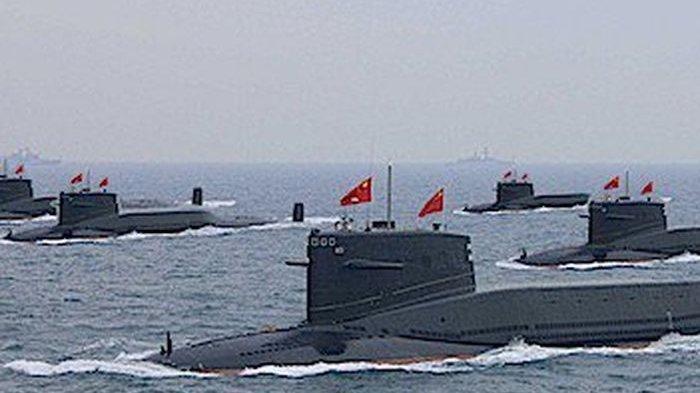 AS Gemetar Lihat Kapal Selam Nuklir China, Satu Rudal Balistiknya Bisa Bikin Lenyap Amerika