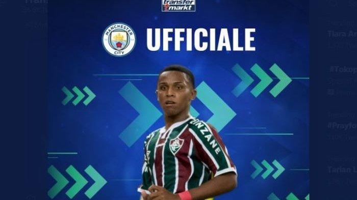 Man City Siapkan Kayky da Silva Chagas sebagai Masa Depan karena Talentanya Brilian