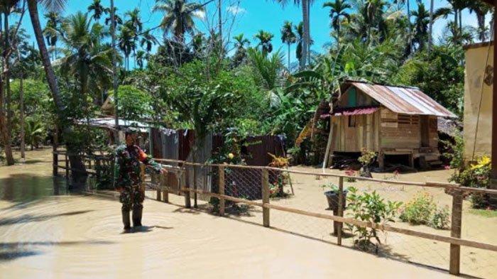 Warga Selamatkan Padi Jelang Sahur, Antisipasi Banjir di Matangkuli