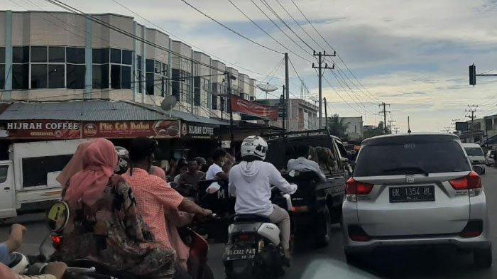 Simpang Lamlo Kerap jadi Titik Kemacetan di Pidie