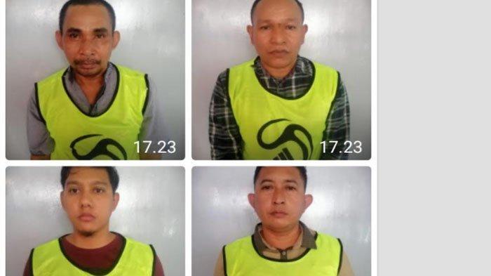 Empat Gembong Narkoba asal Aceh Timur Ini Dituntut Hukuman Mati