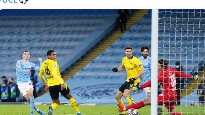 Hasil Liga Champions - Petaka Injury Time Bikin Borussia Dortmund Telan Pil Pahit dari Man City