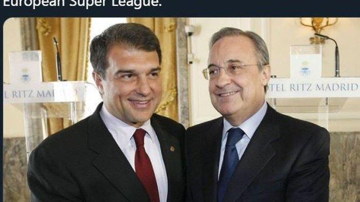 The Big Six Liga Inggris Mundur dari Liga Super Eropa, Florentino Perez: Saya Sedih dan Kecewa