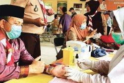 Kwarcab Pramuka Langsa Kumpul Darah 90 Kantung Bantu Ketersediaan di RS