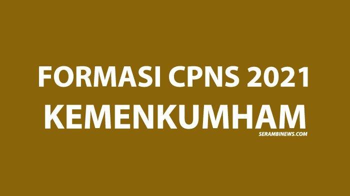Formasi CPNS Kemenkumham 2021 Lulusan SMA untuk Penjaga Tahanan, Aceh Buka 234 Lowongan