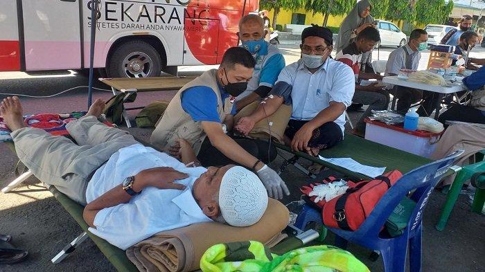 Forsi Asokaya Bireuen Sumbang Darah 72 Kantong