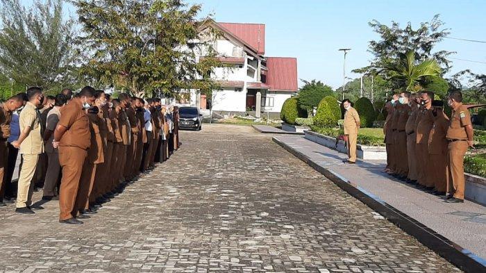 Hari Pertama Masuk Kantor, Kehadiran PNS di Aceh Jaya Capai 95 Persen