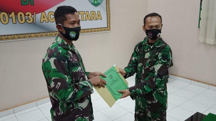 Dandim Aceh Utara Lepas Mayor Kav Ismet Rahmatullah, Pindah Tugas ke Pusennkav