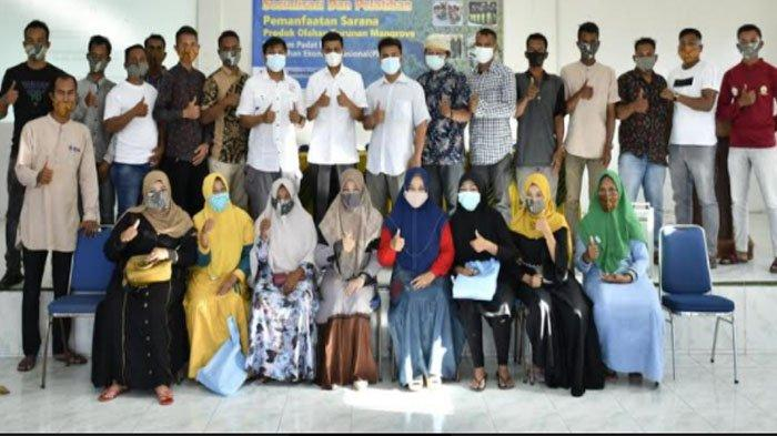 Anggota DPR RI Muslim Fasilitasi Pelatihan Pengolahan Mangrove di Aceh Utara