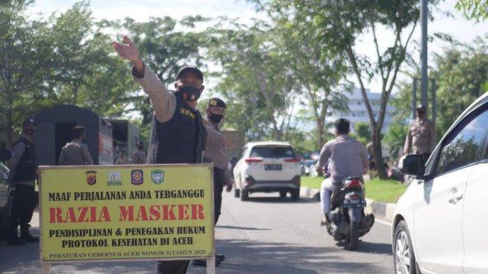 Tim Peucrok Jaring 27 Pelanggar Protkes di Banda Aceh dan Aceh Besar