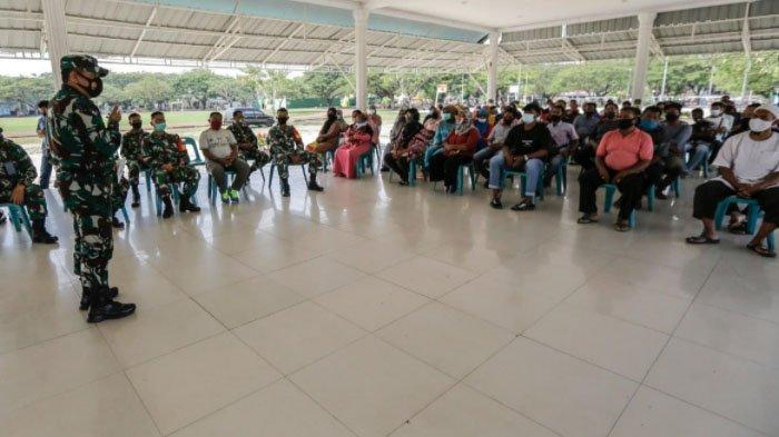 Bila Tidak Patuh Protkes, Dandim 0101/BS Larang Pedagang di Blang Padang Berjualan