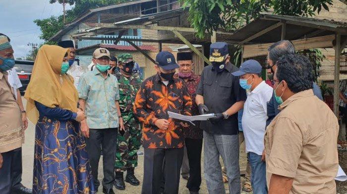 Ditinjau Plt Gubernur, Warga Minta Jalan Proyek Multiyears di Aceh Tamiang Segera Dikerjakan