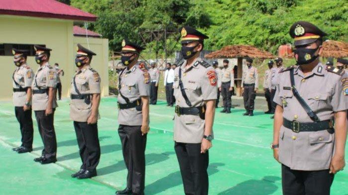 Kapolres Simeulue Pimpin Sertijab Tiga Jabatan di Jajaran Polres