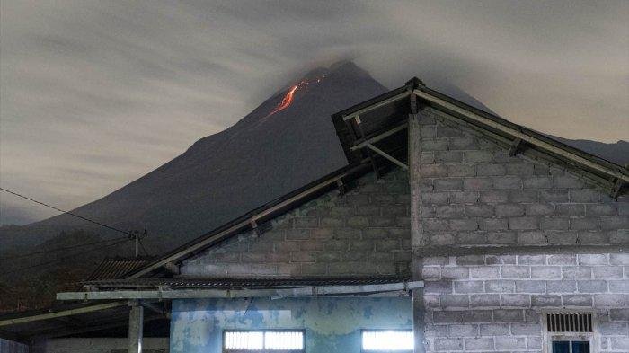Foto Aktivitas Vulkanik Gunung Merapi Yogyakarya