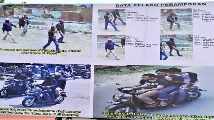 Perampok Toko Emas di Medan Sempat Lari ke Delisersang, Ini Identitas 4 Pelaku, Satu Tewas Ditembak