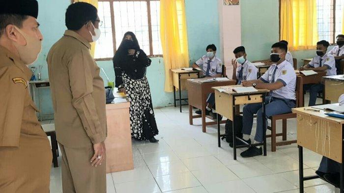 Plt Kadisdik Aceh Sidak SMA dan SMK di Kota Banda Aceh
