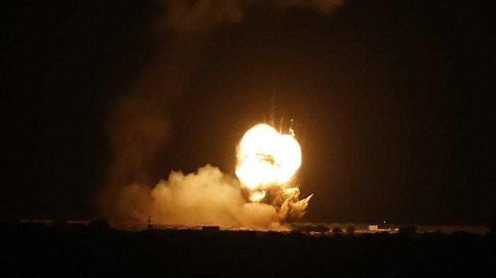 Israel Hujani Roket ke Gaza, Tuduh Palestina Serang Lebih Dulu