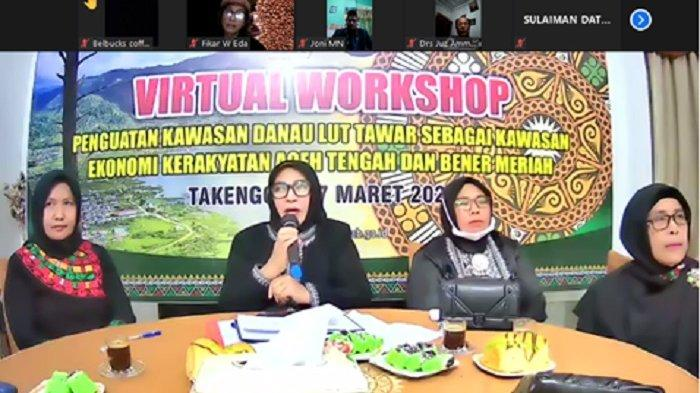 Aceh Tengah dan Bener Meriah Terus Kembangkan Industri Kerawang Gayo Termasuk untuk Sandal