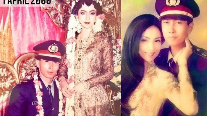 Foto masa lalu Heni Tania dan suami
