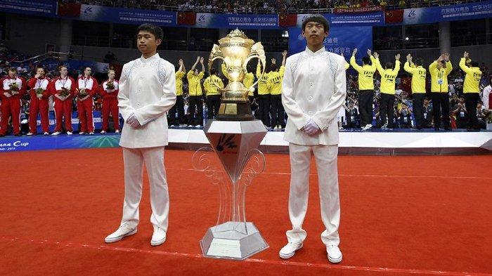 Piala Sudirman 2021 - Jadwal Sudirman Cup, Hasil Drawing & Daftar Pemain Bulutangkis dari 16 Negara