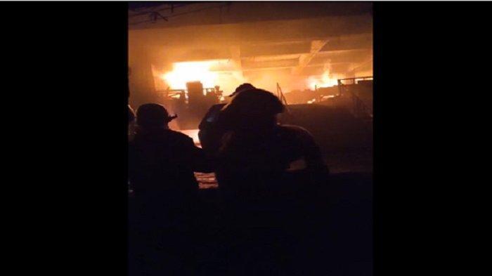 Malam 1 Ramadhan 1442 Hijriah, 50 Pedagang Warga Aceh Jadi Korban Kebakaran di Pasar Minggu Jakarta