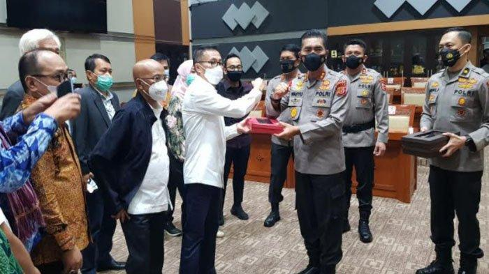Wakili Calon Kapolri, Kapolda Aceh Pimpin Rombongan Antar Makalah ke DPR RI