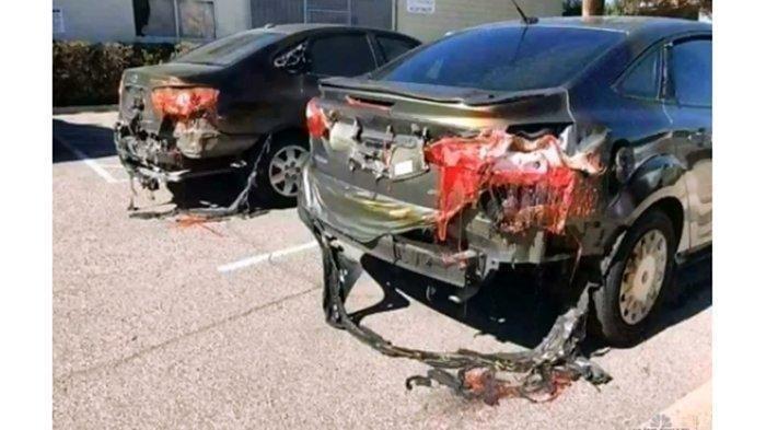 Viral Mobil Meleleh Karena Cuaca Panas, Benarkah Gambar di Kuwait? Cek Fakta Sebenarnya