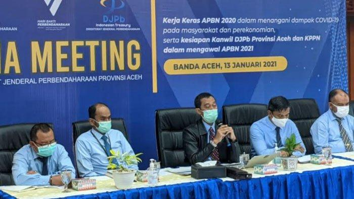 DJPb Bahas Terkait Pelaksanaan APBN Tahun 2020