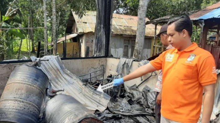 Percikan Api Sambar Drum Bensin, Hasil Olah TKP Kebakaran 4 Rumah di Simeulue