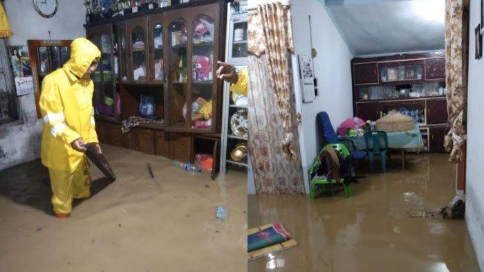 Hujan Lebat Disertai Angin Kencang Landa Aceh Selatan Sebabkan Banjir dan Pohon Tumbang