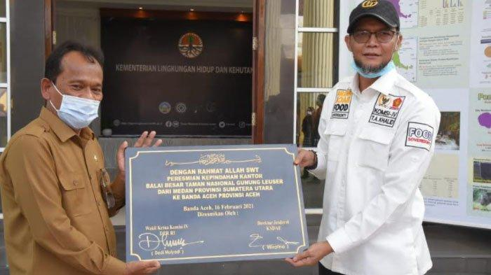 Balai Besar TNGL Resmi Pindah dari Sumut dan Berkantor di Aceh, Begini Prosesnya