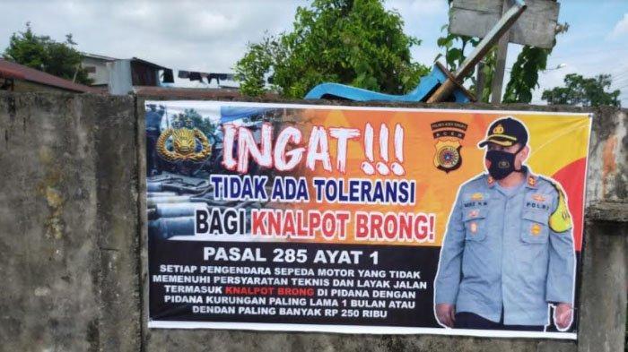 Satlantas Polres Aceh Singkil Gencarkan Sosialisasi Larangan Penggunaan Knalpot Brong