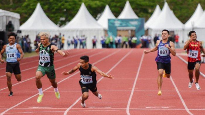 Emas Terakhir Sprinter Aceh Fuad Ramadhan