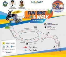 Ini Rute Fun Bike Aceh Selatan, Sepeda Motor Hadiah Utama