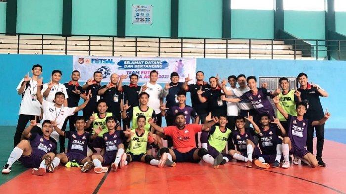 Sapu Bersih Kemenangan di Grup C, Tim Futsal Lhokseumawe Dipastikan Lolos ke PORA 2022 di Pidie