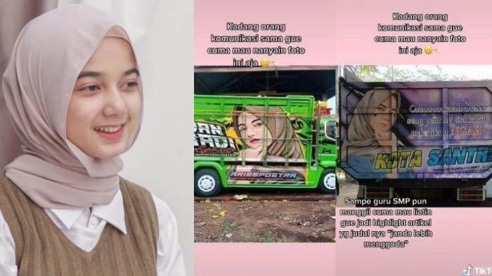Viral Lukisan Wajah Gadis Aceh di Truk, <a href='https://manado.tribunnews.com/tag/pocut-rauzha' title='PocutRauzha'>PocutRauzha</a> Ternyata Hobi Fotografi, Ini Profilnya