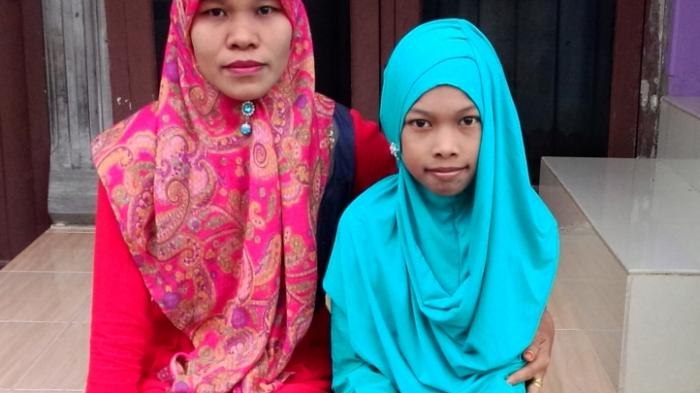 Gadis Yatim Bocor Jantung Nyaris Putus Sekolah