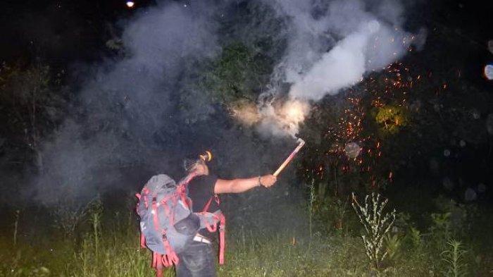 Petugas BKSDA Aceh Tangani Konflik Gajah - Manusia di Desa Kapakseusak Aceh Selatan, Giring ke Hutan