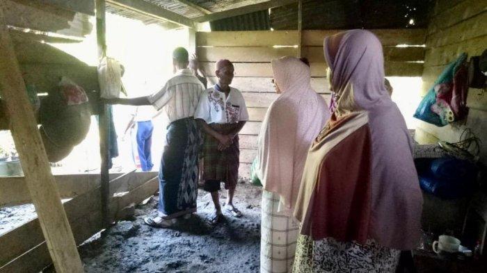 Gajah Obrak-abrik Rumah di Geumpang Pidie, 3 Karung Padi Dimakan, Pasutri dan 1 Anak Berhasil Kabur