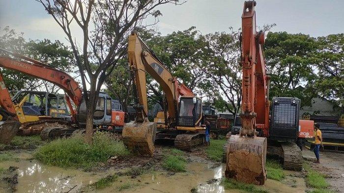 Tim Polda Aceh Ciduk Komplotan Eksplorasi Galian C Ilegal di Lhokseumawe, 8 Orang Diamankan