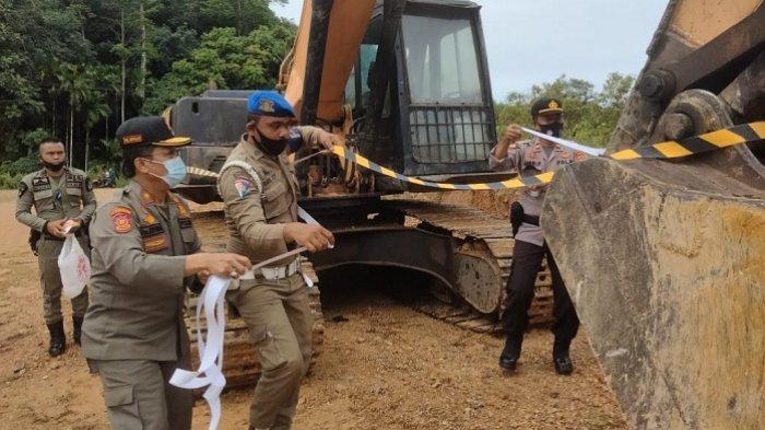 Galian C di Lhok Buya Aceh Jaya Ternyata Sudah Beroperasi Lama, Keruk Gunung Secara Ilegal