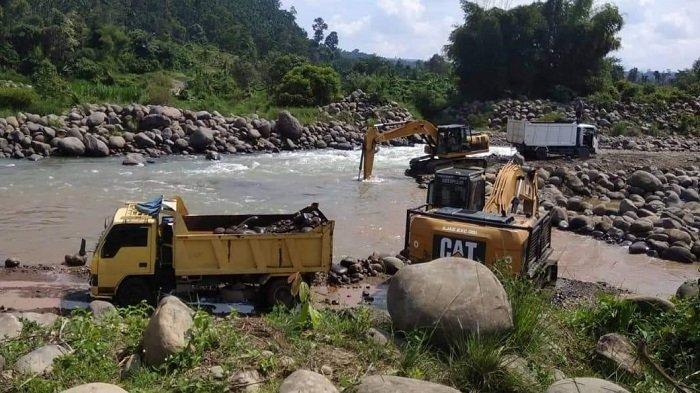 Galian C di Krueng Sawang belum Mampu Ditertibkan, Ini Permintaan Walhi kepada Pemerintah dan Polisi