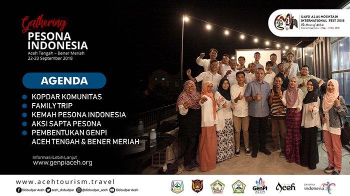 Sukseskan GAMIFest 2018, GenPI Aceh Gelar Gathering Pesona Indonesia Aceh Tengah-Bener Meriah