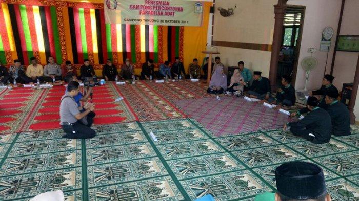 Simulasi Peradilan Adat di Gampong Tanjong, Soal Istri Muda dan Bagi-bagi Harta Warisan