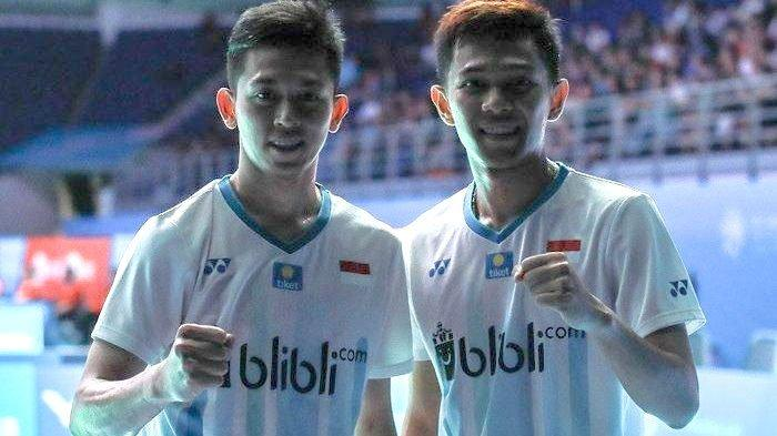 Indonesia Open 2019 - Lawan Pasangan Baru China, Fajar/Rian tak Mau Lengah