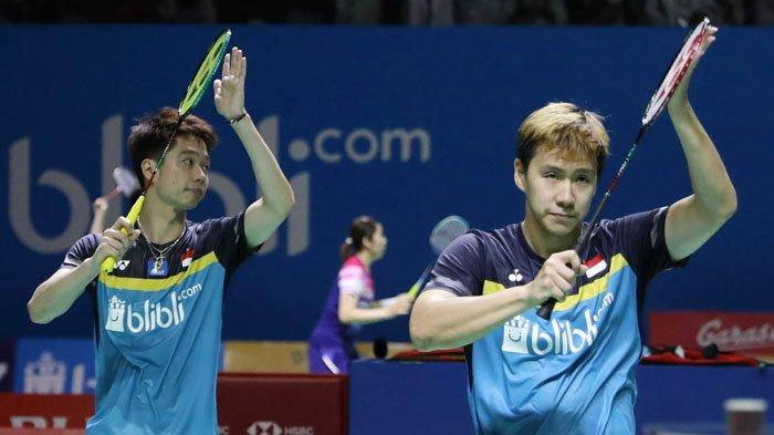 Marcus/Kevin Masih Peringkat 1 Dunia, Pecahkan Rekor Ganda Putra Korea Lee Yong Dae/Yoo Yeon Seong