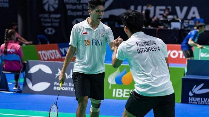 Pramudya/Yeremia Juara Spain Masters 2021, Kalahkan Sabar/Reza Dalam Derbi Indonesia
