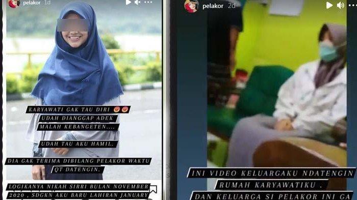 Seorang Wanita Gerebek Karyawati yang Rebut Suaminya, Sang Karyawati Menangis Ngaku Cuma Korban