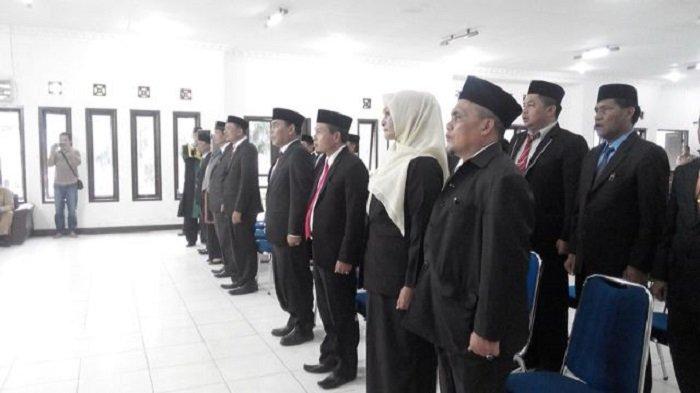 Sekdakab Gayo Lues Lantik 17 Pejabat Tinggi Pratama, Berikut Nama-namanya